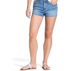 NWT Universal Thread Shortie Denim Shorts SZ 6